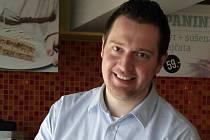 Luboš Martínek, ředitel českého řetězce kaváren CrossCafe.