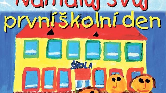 Deník vyhlásil soutěž v malování pro prvňáky.