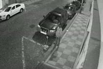 Sprejeři v Milíčově ulici na Žižkově.