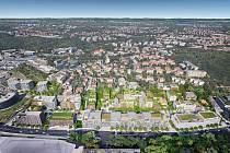 Takhle má už brzy vypadat projekt Nová Waltrovka v pražských Jinonicích.