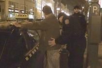 Kontrola taxikářů. Ilustrační foto