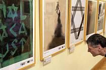 Vernisáž plakátů s tématikou připomínky holokaustu očima součastných studentů grafického designu z České republiky, Izraele a Francie s názvem Živé vzpomínky, děti v době holokaustu.