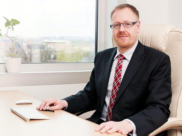 Ředitel Asociace inovativního farmaceutického průmyslu Jakub Dvořáček.