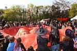 Pálení čarodějnic se v kempu Pražačka koná každoročně