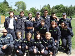 TO JSOU ONI. Dobrovolní hasiči  ze SDH Jinočany pomáhají celé obci.