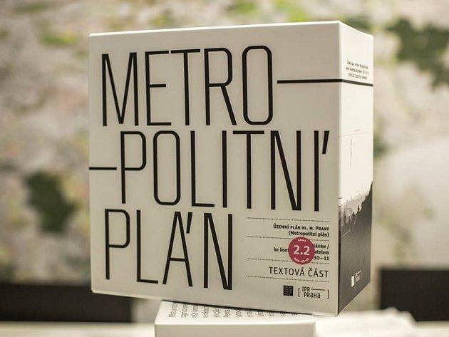 Metropolitní plán Prahy.