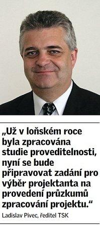 Citát ředitele Technické správy komunikací (TSK) vPraze Ladislava Pivce.