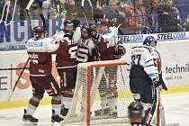 Hokej – HC Vítkovice vs. HC Spata Praha.