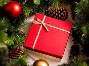 Vánoční dárek. Ilustrační foto.