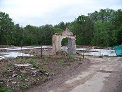 Většina část Koníčkova mlýnu byla zdemolována
