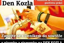 Zapojte se s Deníkem do soutěže o pivenky a stravenky na Den Kozla ve Velkých Popovicích.