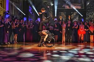 Prague Dance Championship. Historicky první soutěž v tanci na vozíku (ve skoku Jan Onder).