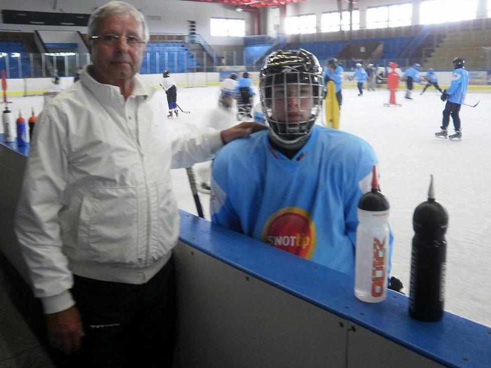 Hokejový trenér Luděk Bukač