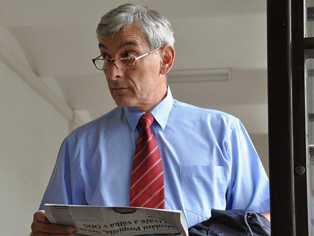 Advokát Michal Pacovský.