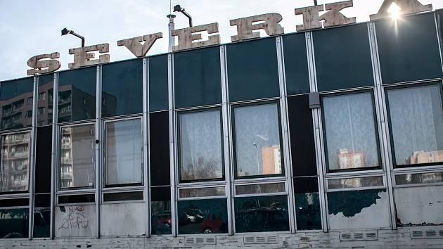 Soukromý klub Severka na pražkém Jižním Městě 30. ledna.