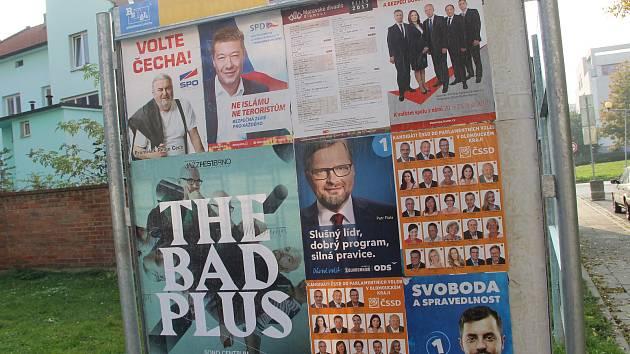 Předvolební kampaň. Ilustrační foto.