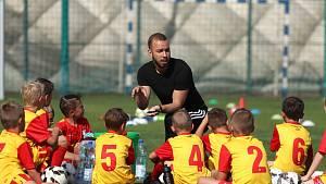 Martin Jelínek během normálního tréninku v Tempu.
