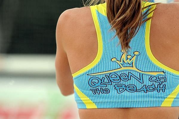 Turnaj v plážovém volejbalu King & Queen of the Beach ve strašnickém areálu Gutovka.