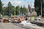 Stavební práce na Praze 10.