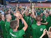 Vítězi fotbalového Poháru Prahy jsou hráči Střešovic.