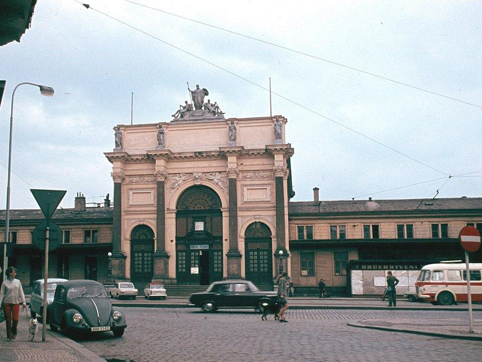 Bývalé nádraží Praha-Těšnov.