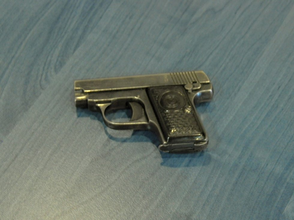 Policie hledající vraha zkoumá zbraně malé ráže