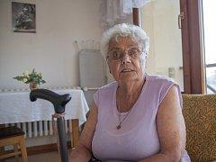 Marta Červenková z domova důchodců v pražských Ďáblicích