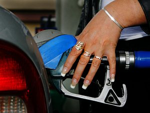 Benzínová pumpa. Ilustrační foto.