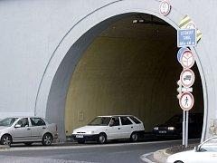 Letenský tunel. Ilustrační foto.