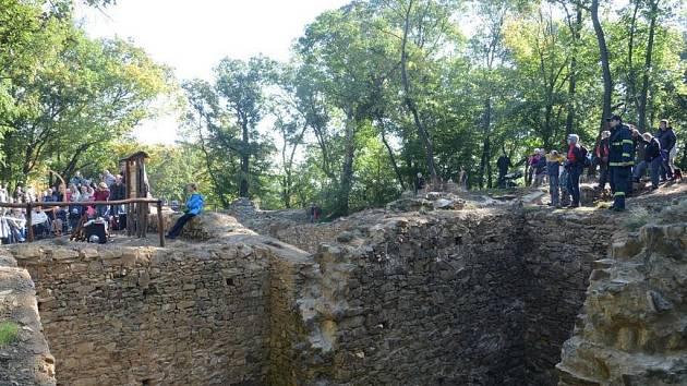 Nový hrad po sanaci v roce 2013.