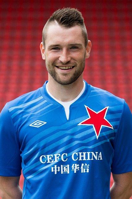 Brankář Martin Berkovec.