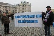 Prezidentská inaugurace v podhradí