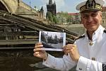 S kapitánem Štěpánem Rusňákem po stopách filmových míst na Vltavě - Čertovka - film Chobotnice z II. patra.