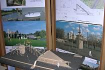 Jak by mohlo vypadat koupaliště Lhotka? Své návrhy už v roce 2014 představili studenti Stavební fakulty ČVUT v Praze.