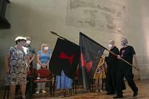 Bohoslužba při příležitosti 606. výročí mučednické smrti Mistra Jana Husa se konala 6. července 2021 v Betlémské kapli v Praze.