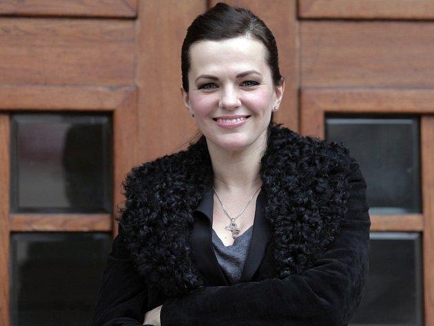 Zpěvačka Marta Jandová.
