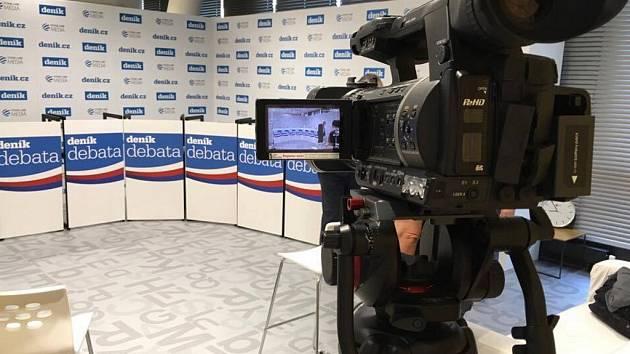 Předvolební debata pražských lídrů.
