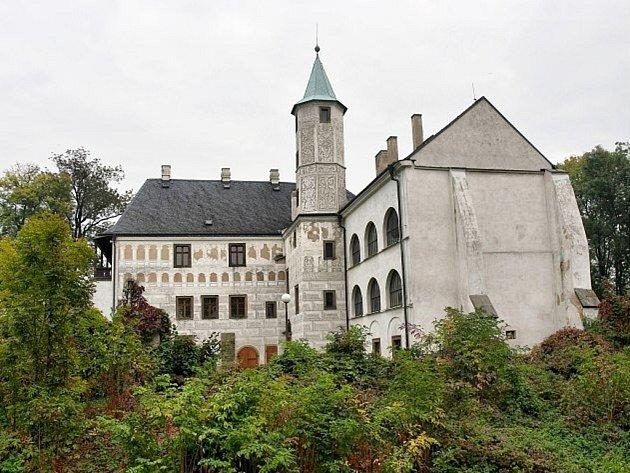 Zámek Přerov nad Labem. Ilustrační foto.