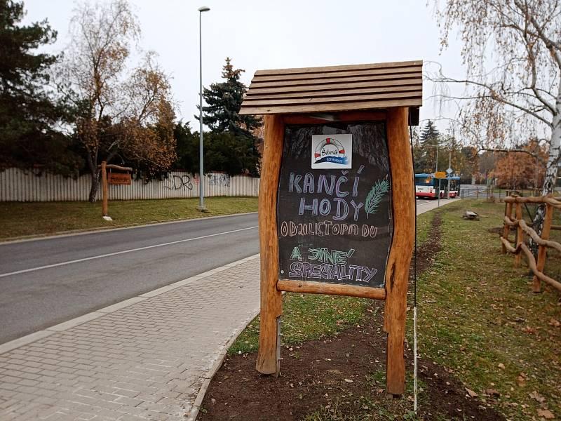 Restaurace ve sportovním areálu Šeberák vKunraticích otevřela i v pátek 27. listopadu 2020. S hosty měla podepsanou dohodu o provedení práce.