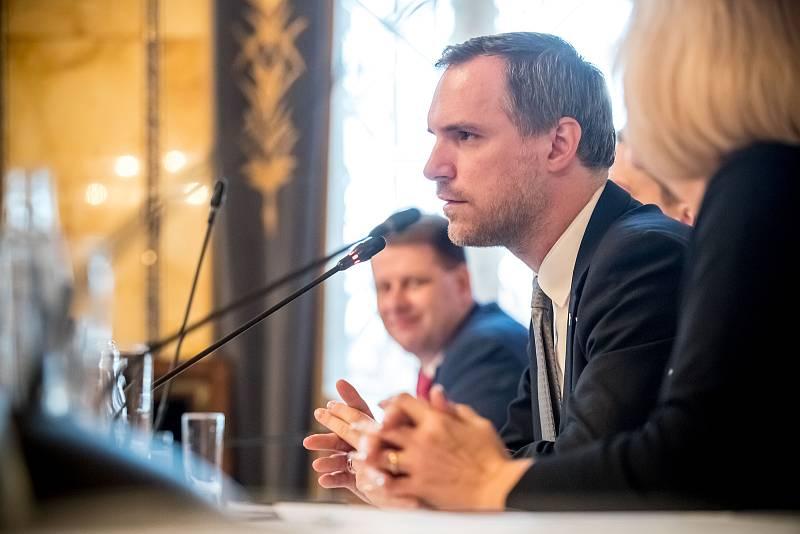 Setkání s primátorem Prahy Zdeňkem Hřibem 29. listopadu 2019.