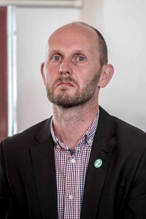 Strana zelených představila 16. června v Praze svůj program a lídry do podzimních parlamentních voleb. Pavel Himl - Jihočeský kraj