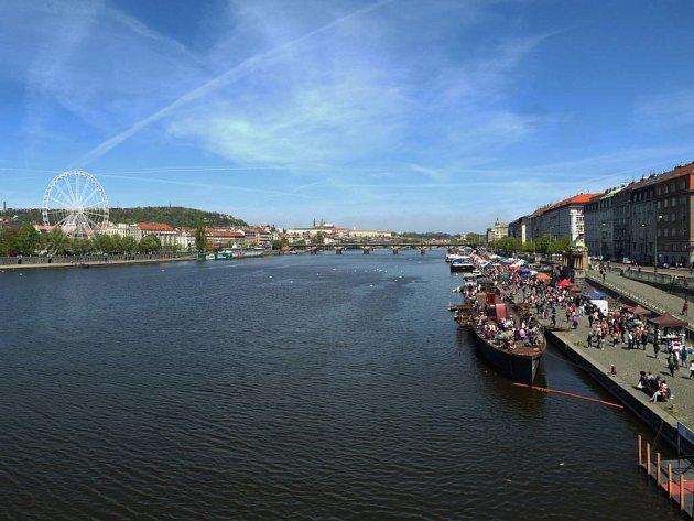 Vizualizace ruského kola na Praze 5.