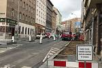 In the summer of 2020, Koněnova Street in Prague is being reconstructed.  The inhabitants of Žižkov also deal with the creation of cycle lanes.