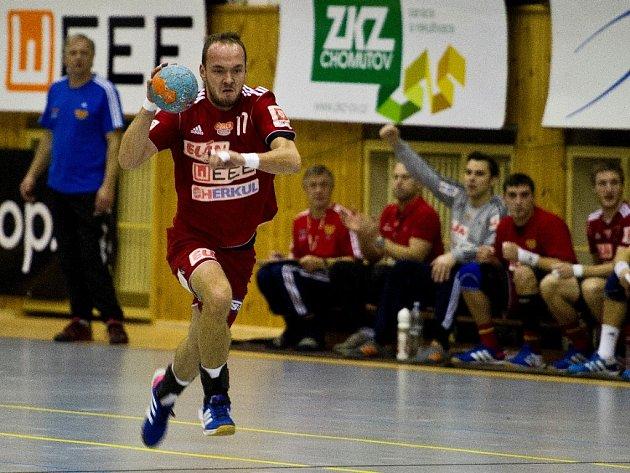 SPOJKA DUKLY Zdeněk Polášek nastřílela vutkání pět branek, v prvních čtrnácti minutách druhé půle se pak prosadila hned čtyřikrát.