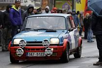 Rallye Praha Revival 2017.  Václavské náměstí