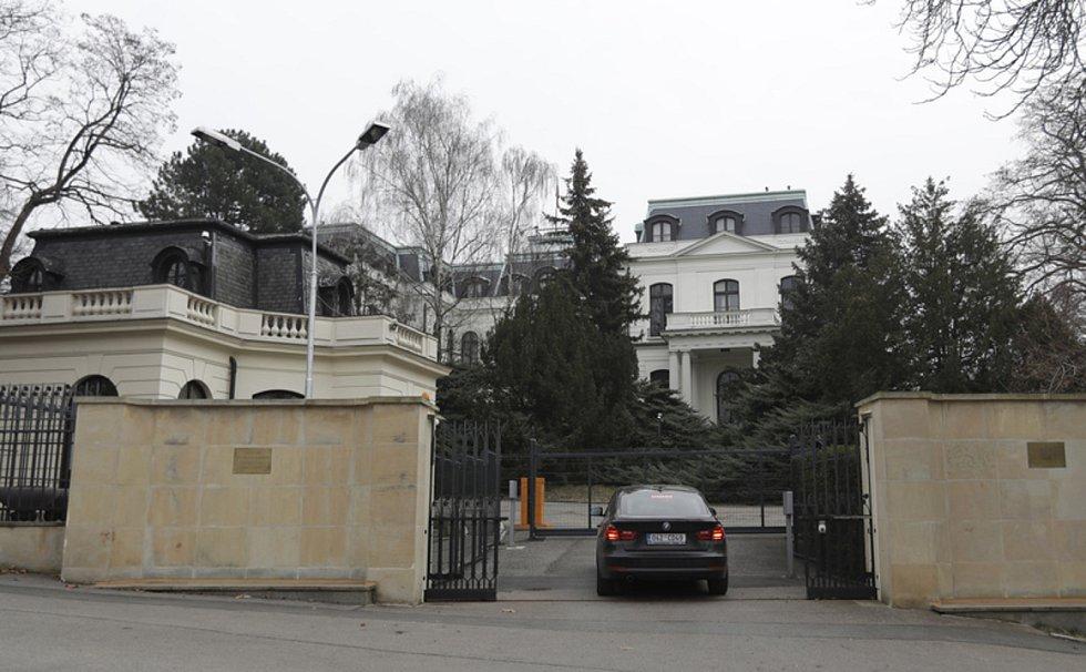 Ruská ambasáda v Praze.