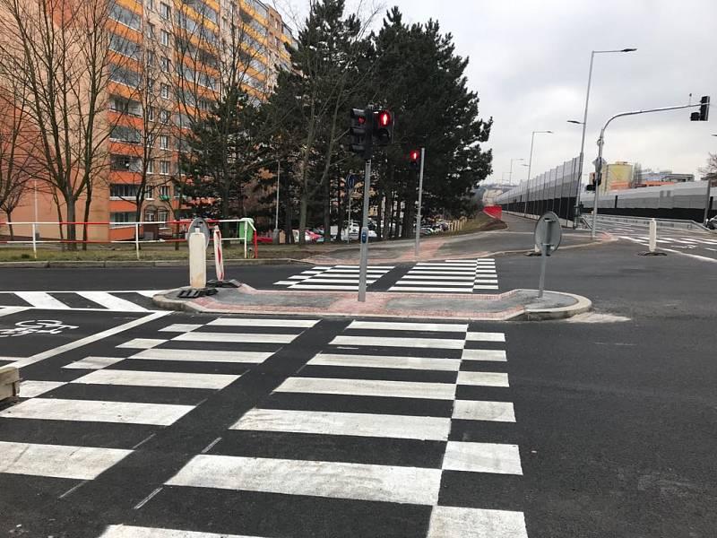 Opravené ulice v Praze. Slánská.
