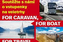 Veletrh For Caravan - For Boat - For Travel.