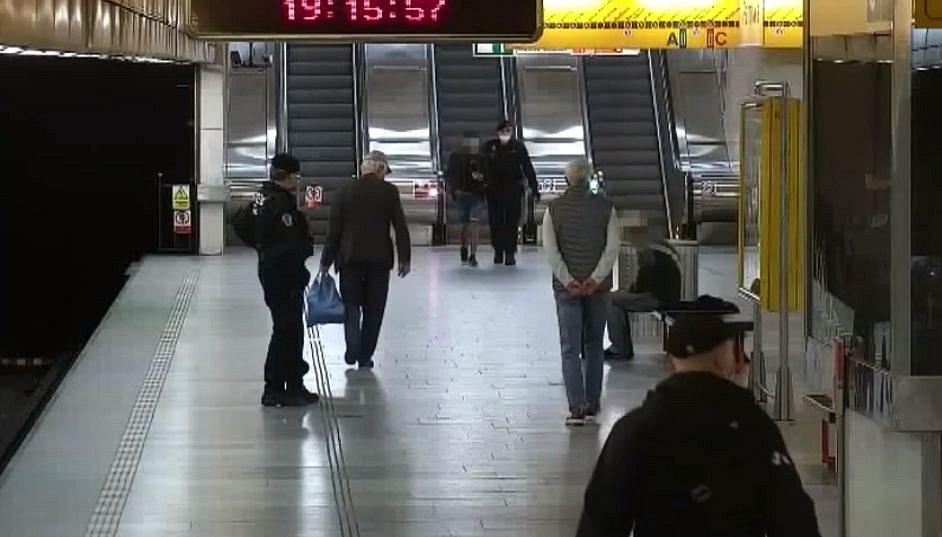 Muž s agresivním psem v metru a zadržený podezřelý.