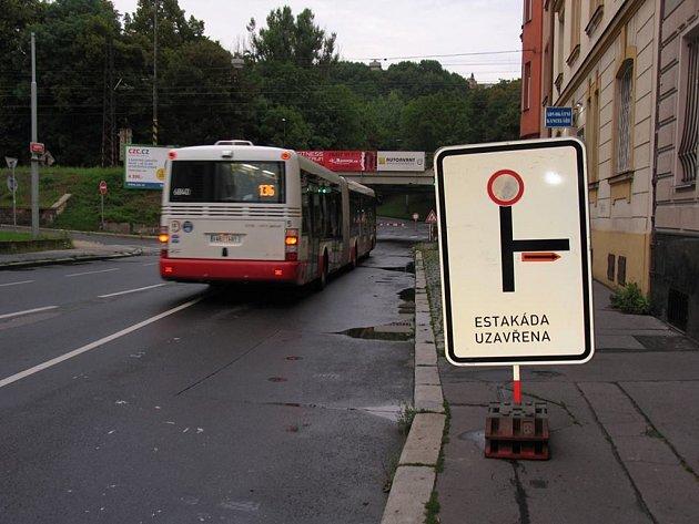 Vysočanská ulice. Ilustrační foto.